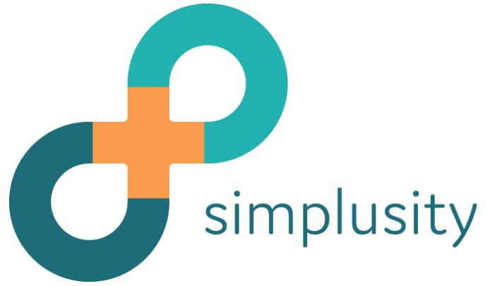 logo Simplusity beeld en naam